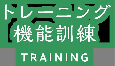 トレーニング 機能訓練